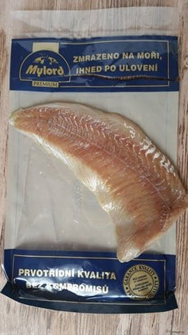 Rybku som kúpila túto v Bille, lovená, zamrazená priamo na mori, čistá lovná oblasť fao 27.