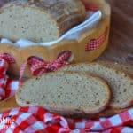 Špaldový zemiakový chlebík (kváskový)