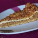 Jesenný jablkovo-škoricový koláčik