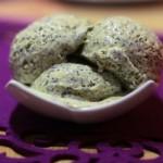 Makovo - medová zmrzlina