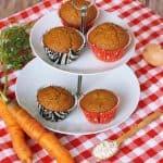 Mrkvové muffiny s tvarohom