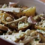 Bravčová panenka a pečené zemiaky s bryndzou
