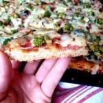 Pizza koláč na plech