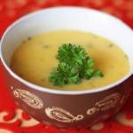 Tekvicovo - karfiolová crema
