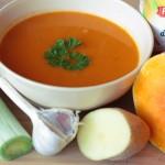 Zimná tekvicová polievka